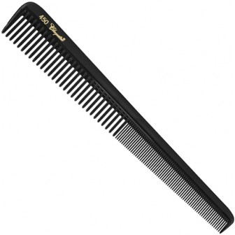 Krest Cleopatra 450 Tapered Barbers Comb in Black