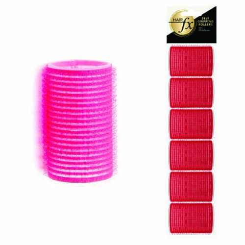 Hair FX Self Gripping 36mm Velcro Rollers, 12pk + FREE NZ