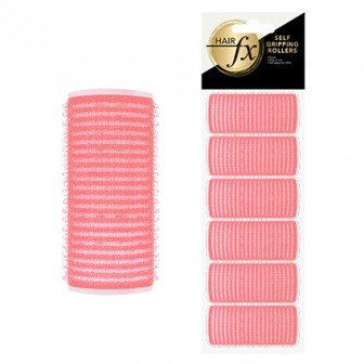 Hair FX Self Gripping 24mm Velcro Rollers, 12pk
