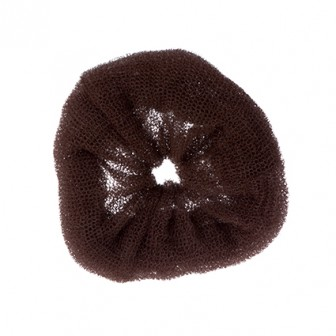 Dress Me Up Hair Donut Brown  X-Large