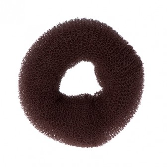 Dress Me Up Hair Donut Brown  Large