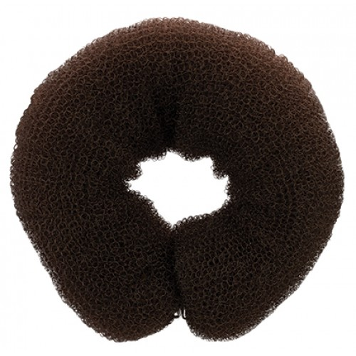 Dress Me Up Hair Donut And Sausage Two Way Styler - Large Brown