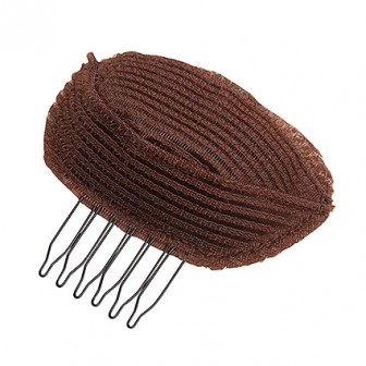 Dress Me Up Crown Volumizer with Comb Brown