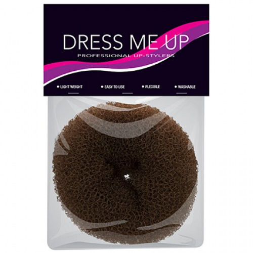 Dress Me Up Hair Donut Small Thick Brown