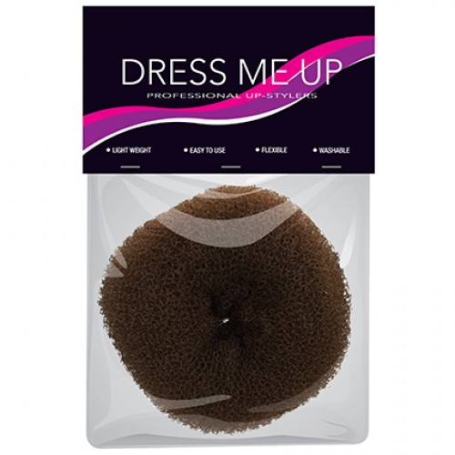 Dress Me Up Hair Donut X-Large Thick Brown