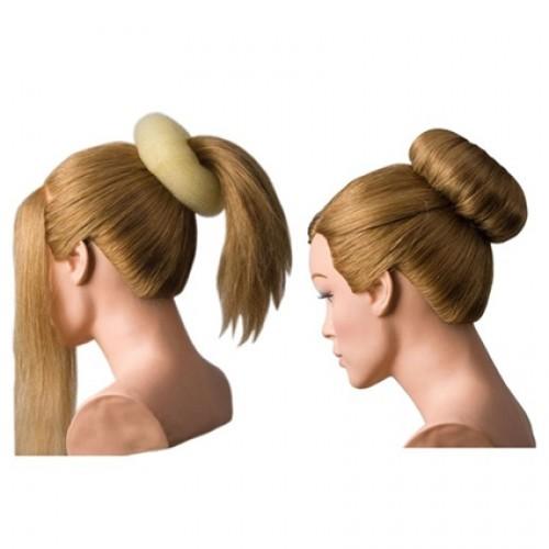 Dress Me Up Hair Donut And Sausage Two Way Styler - Medium Blonde