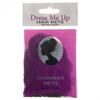Dress Me Up Slumber Hair Net - Dark Brown