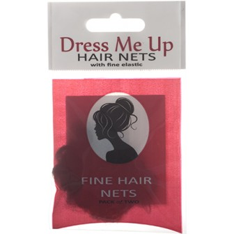 Dress Me Up Fine Hair Net in Light Brown
