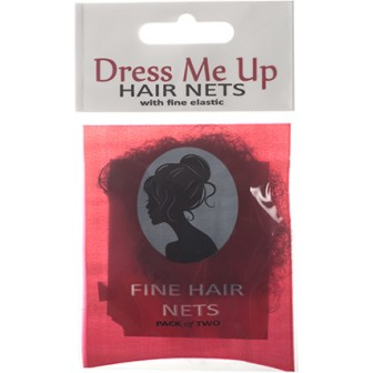 Dress Me Up Fine Hair Net in Black