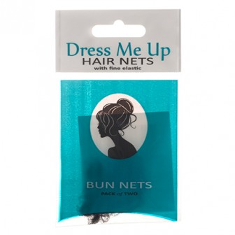 Dress Me Up Bun Hair Net in Dark Brown