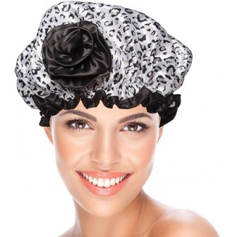 BeautyPRO Shower Cap Cheetah