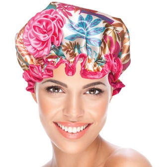BeautyPRO Shower Cap Havana