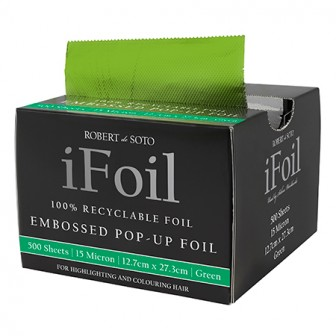 Robert De Soto IFoil Embossed Pop Up Green