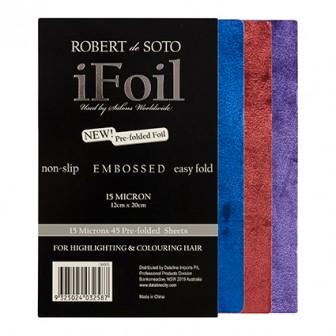 Robert De Soto Coloured Embossed Foil - 45pk