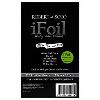 Robert De Soto Pre-Cut Foil, 225 Sheets