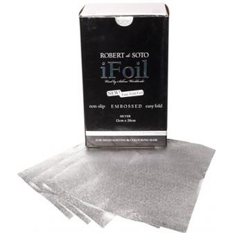Robert De Soto IFoil Silver Embossed Fast Foil, 500pk