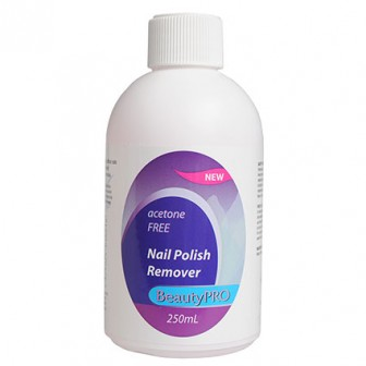 BeautyPRO Acetone Free Nail Polish Remover 250ml