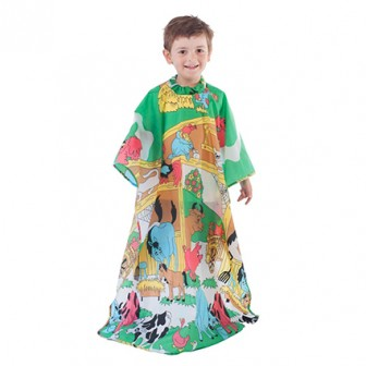 Salon Smart Farm Animals Kids Hairdressing Cape