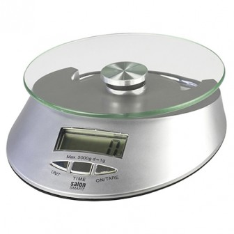 Salon Smart Digital Round Glass Scale