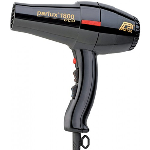 Parlux 1800 Eco Hair Dryer - Black