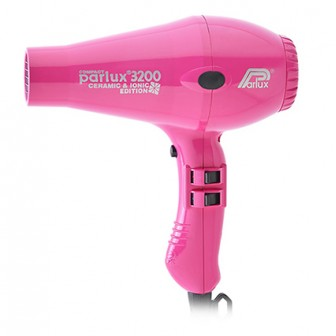 Parlux 3200 Ionic And Ceramic Compact Hair Dryer Pink