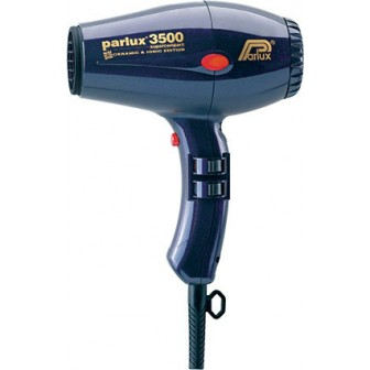 Parlux 3500 SuperCompact Ceramic & Ionic Hair Dryer  - Blue