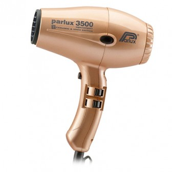 Parlux 3500 Super Compact Ceramic & Ionic Hair Dryer - Gold