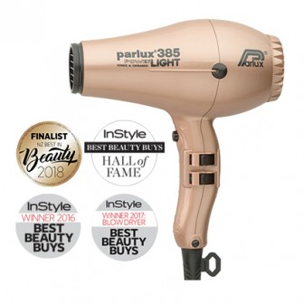 Parlux 385 Power Light Ceramic and Ionic Hair Dryer - Light Gold