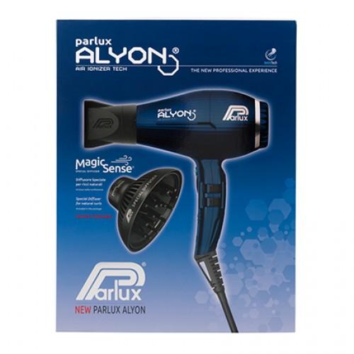 Parlux Alyon Air Ionizer Tech Hair Dryer and Magic Sense Diffuser Midnight Blue