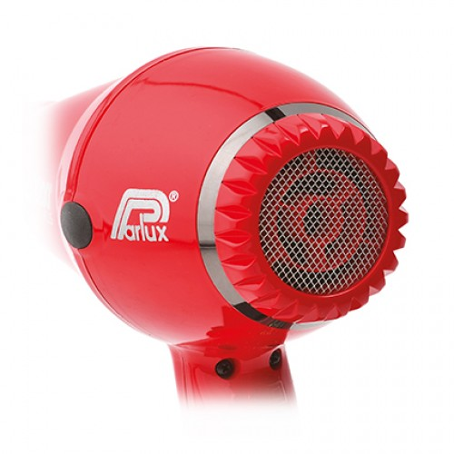 Parlux 3200 Plus Hair Dryer Red