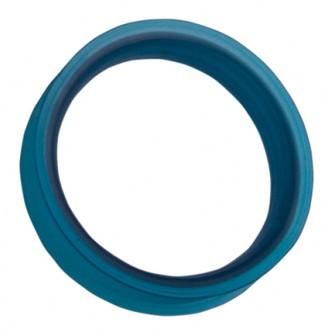 Iceman Finger Insert Ring Blue