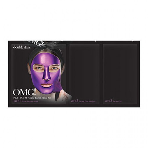 OMG! Platinum Purple 3In1 Facial Mask