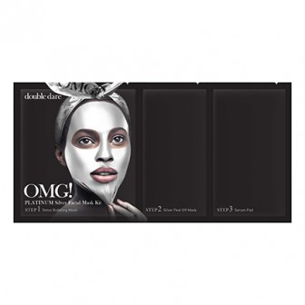 OMG! Platinum Silver 3 In 1 Facial Mask