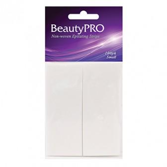 BeautyPRO Non-Woven Small Wax Strips, 100pk