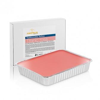 Xanitalia Techno Stripless Pink Titanium Wax Cake 1000g