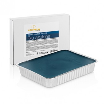 Xanitalia Techno Stripless Blue Azulene Wax Cake 1000g