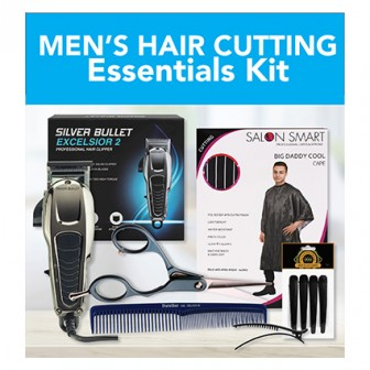 Mens Hair Cutting Essentials Kit