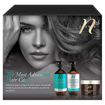 Nth Degree The Most Advanced Argan Hair Care Gift Pack
