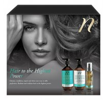 Nth Degree Hair To The Highest Power Hair Care Gift Pack