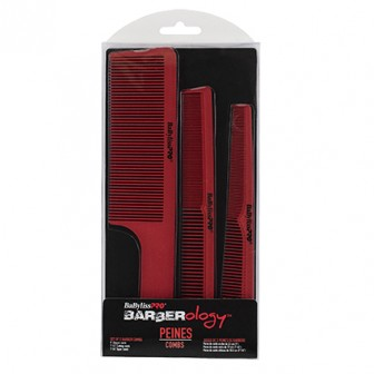 BaBylissPRO Barberology Barbers Comb Set 3pc