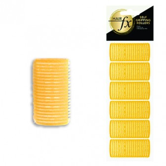 Hair FX Self Gripping 32mm Velcro Rollers, 6pk