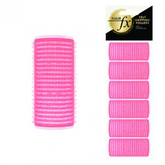 Hair FX Self Gripping 24mm Velcro Rollers, 6pk