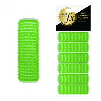 Hair FX Self Gripping 21mm Velcro Rollers, 6pk