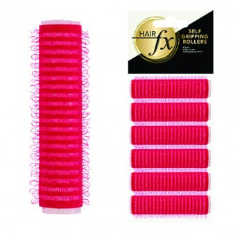 Hair FX Self Gripping 13mm Velcro Rollers, 6pk