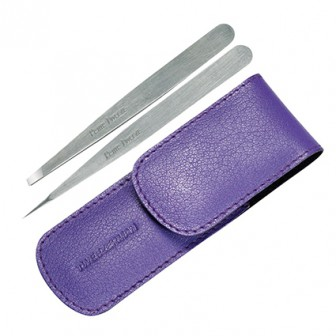 Tweezerman Professional Petite Tweezer Set Purple