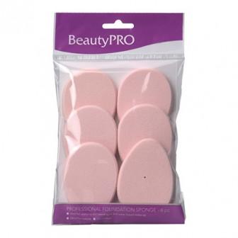 BeautyPRO Affinity Contour Sponges Teardrop 6pc