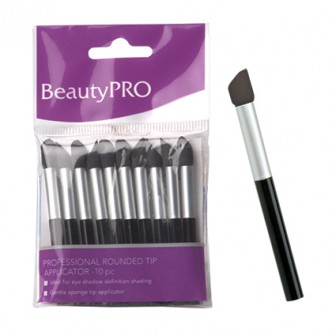 BeautyPRO Affinity Applicators Angular Tip 10pc