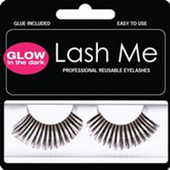 Lash Me Glow-In-The-Dark Black Eyelashes
