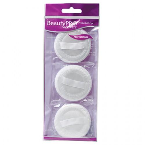 BeautyPRO Affinity Powder Puffs, 3pk
