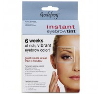 Godefroy Instant Eyebrow Tint Kit - Light Brown